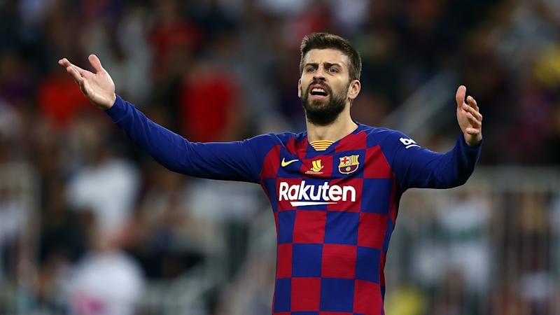 'The worst Real Madrid I have faced' - Pique laments Barcelona's El Clasico failure