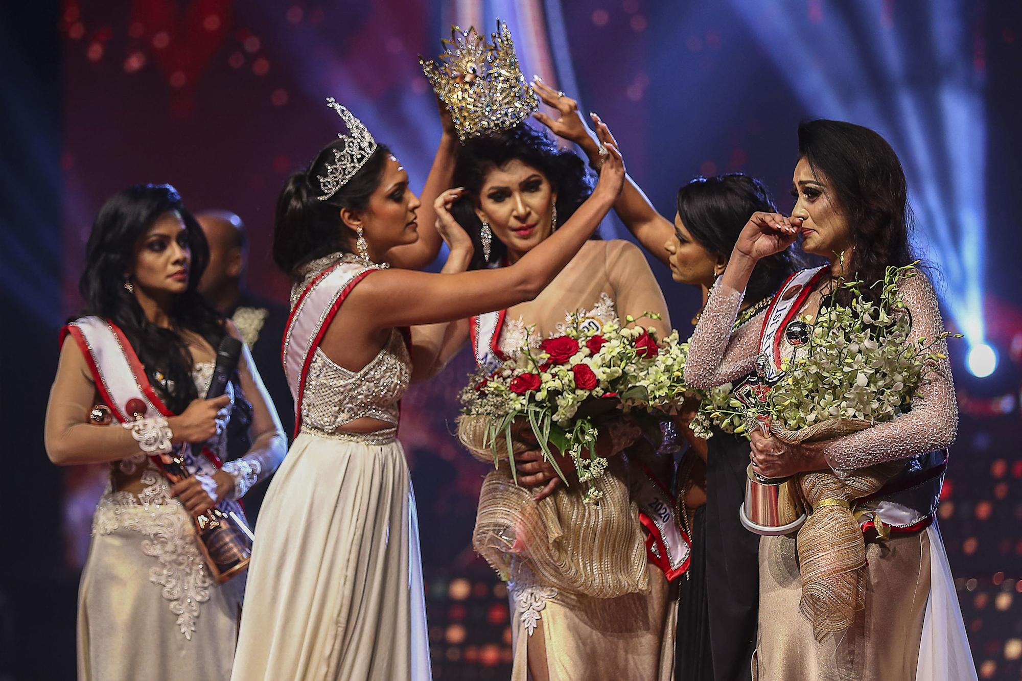 Mrs World quits title after brutal pageant crown attack