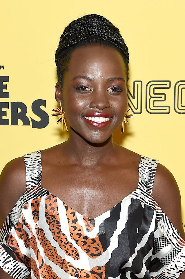 <p>Nyong'o stars as the film's protagonist, Ifemelu, a young woman who leaves her home in Nigeria to chase academic success in America. Despite her accomplishments, she's still drawn to the love she left behind and finds herself grappling with what it means to be Black for the first time.</p>