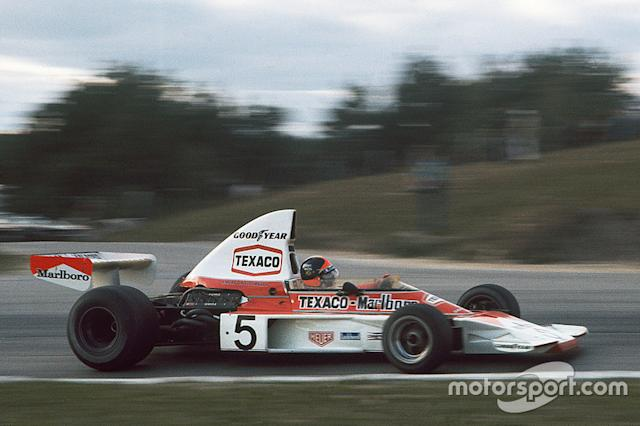 """1974 - Emerson Fittipaldi, McLaren-Ford <span class=""""copyright"""">LAT Images</span>"""