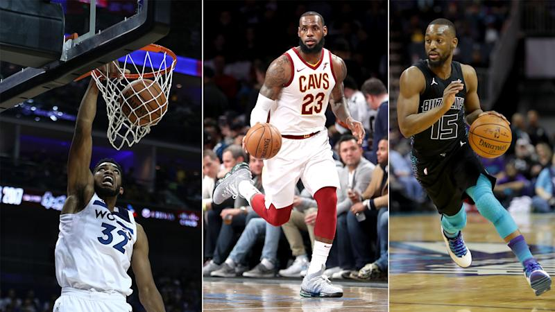Towns, Walker and LeBron lead night of scoring feats