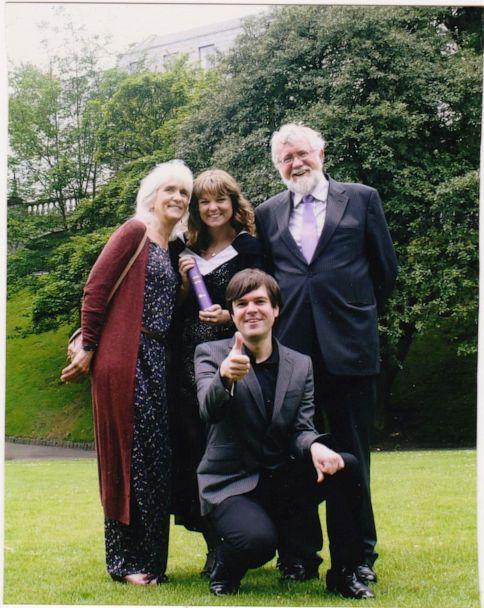 PHOTO: Jo Cameron, left, is pictured with her husband and two children in this undated photo. (Jo Cameron)