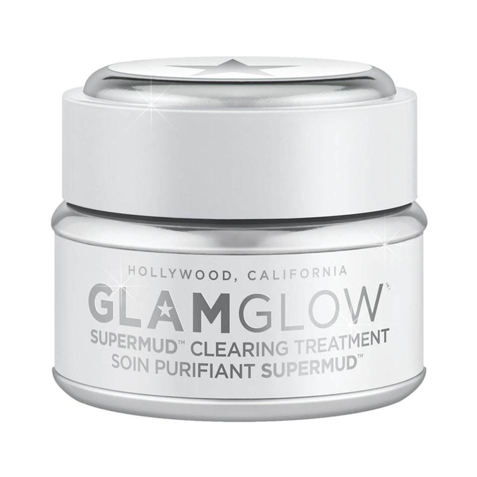 """<p>When it comes to acne-fighting masks, the GlamGlow Supermud Clearing Treatment is a game-changer. After leaving it on for 10 minutes, you can visibly see the oil drawn out from your pores (yuck, but in a good way), and after rinsing, skin is left looking brighter than ever.</p> <p><strong>$60</strong> (<a href=""""https://shop-links.co/1726099333504458111"""" rel=""""nofollow noopener"""" target=""""_blank"""" data-ylk=""""slk:Shop Now"""" class=""""link rapid-noclick-resp"""">Shop Now</a>)</p>"""