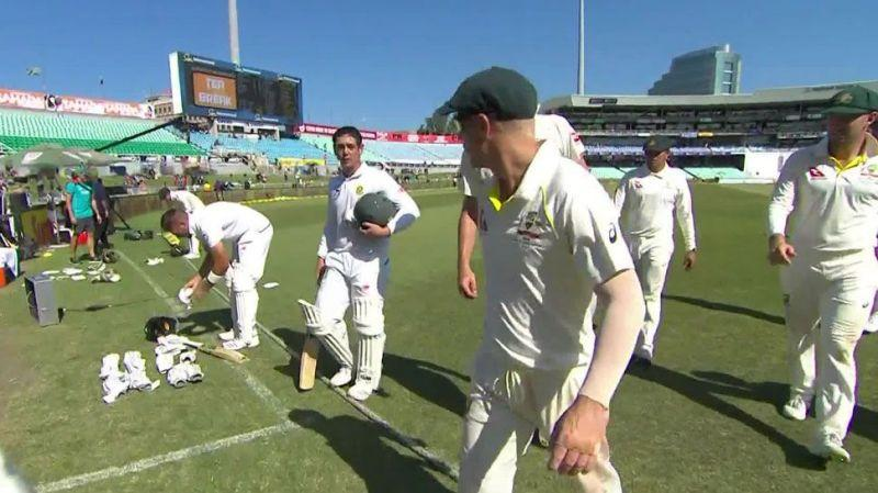 Australia's David Warner and South Africa's Quinton de Kock were involved in an ugly spat.
