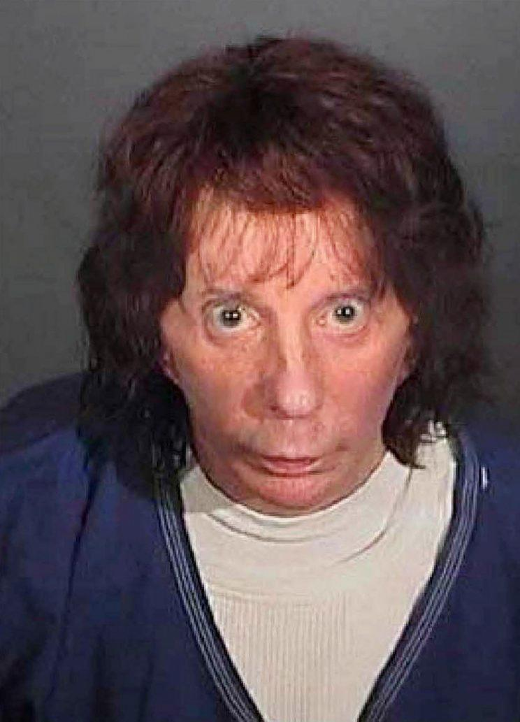Phil Spector booking photo with hair. (Photo: Getty)