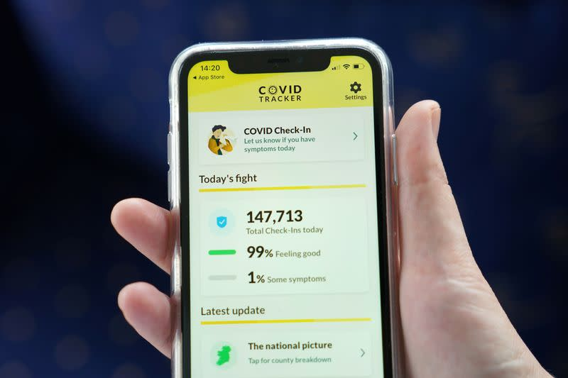 Northern Ireland launches UK's first COVID-19 tracker app