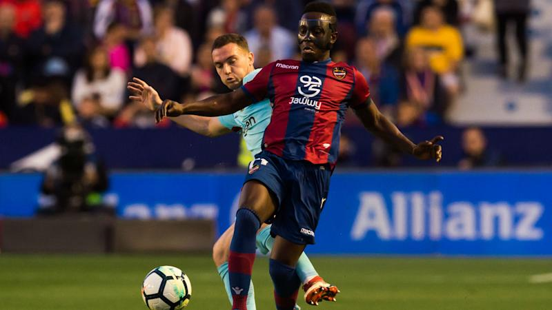 Boateng & Dwamena feature in Levante's home draw against Girona in La Liga