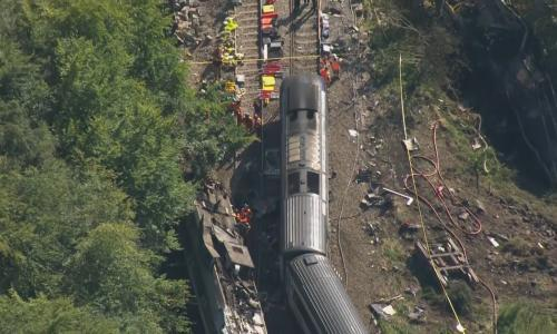 Stonehaven tragedy highlights threat to rail from climate crisis