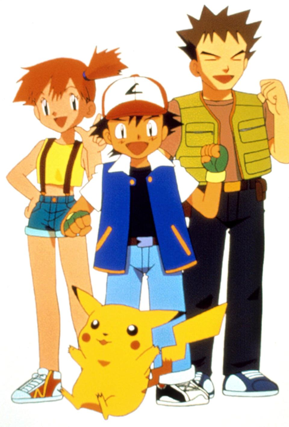 """<p>""""Gotta catch them all!"""" To take on Misty from the Japanese video game-turned franchise <strong>Pokémon</strong>, throw on some tennis shoes, cuffed shorts, a yellow tank, and red suspenders.</p>"""