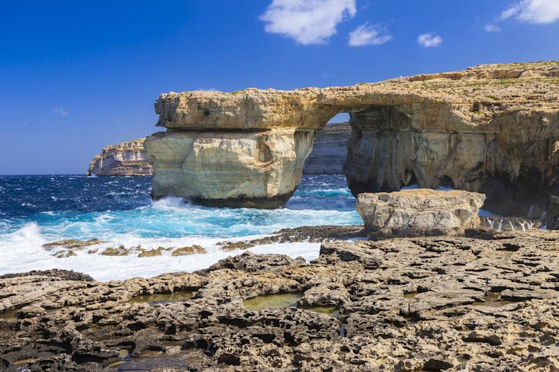 Malta's Iconic 'Azure Window' Collapses Due to Heavy Storms