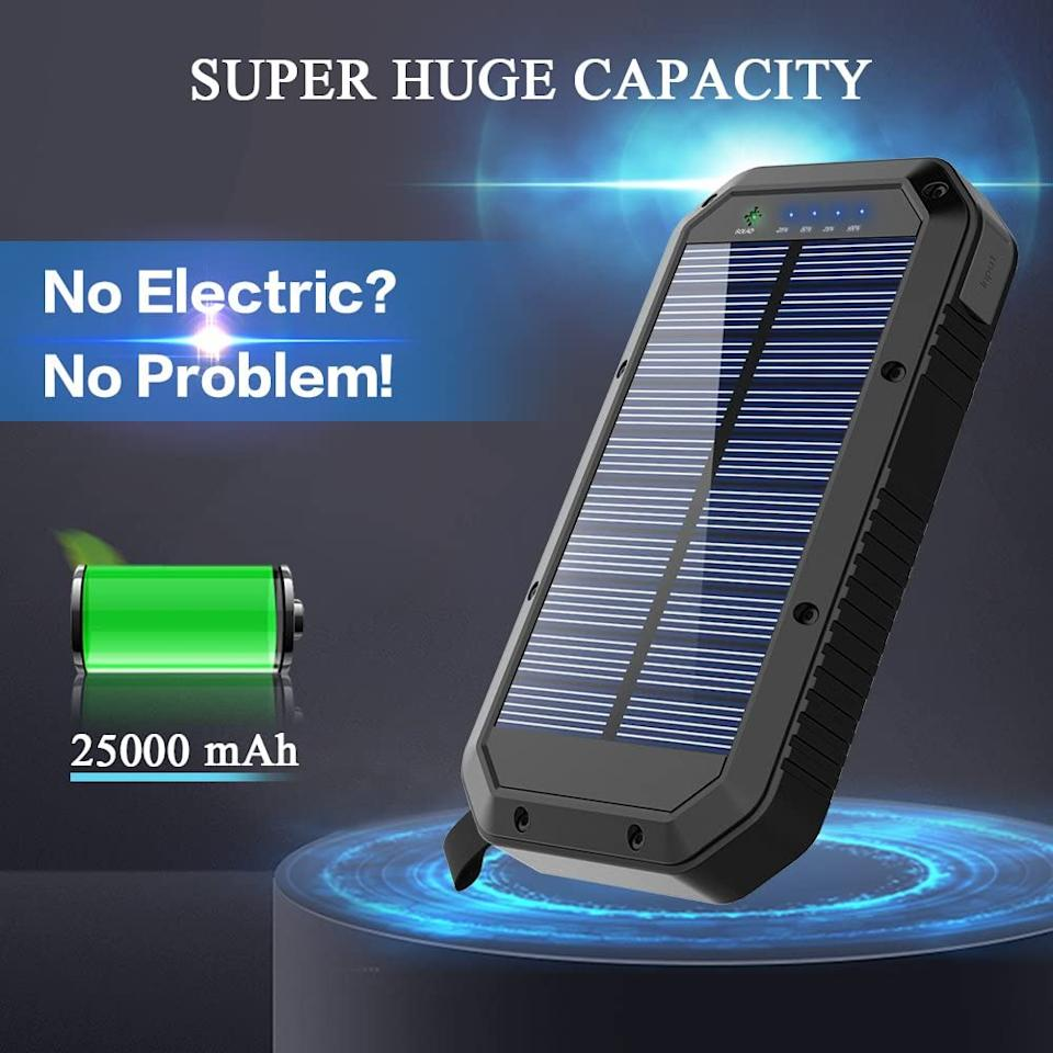 "<h3>GoerTek Solar Charger</h3><br>We have a hunch that you've been spending more time outdoors this summer, hiking and camping with a fury that didn't exist in 2019. This camping-friendly solar charger jumped 21% in the Lawn & Garden section — an indicator that we're not curtailing our outdoor lifestyles anytime soon. This particular model holds enough battery life to charge an iPhone XS more than seven times.<br><br><em>*August 2020 Mover and Shaker</em><br><br><strong>GoerTek</strong> Solar Charger with LED Light, $, available at <a href=""https://www.amazon.com/Charger-25000mAh-Battery-Portable-External/dp/B07MR5RPLL/ref=zg_bsms_lawn-garden_75"" rel=""nofollow noopener"" target=""_blank"" data-ylk=""slk:Amazon"" class=""link rapid-noclick-resp"">Amazon</a>"