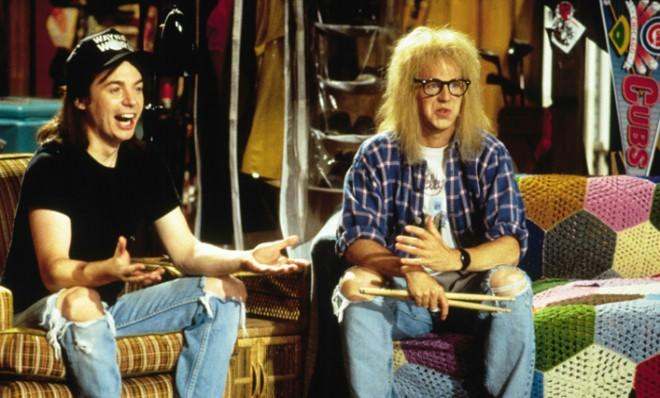 Wayne and Garth partied on from their recurring SNL sketch to two feature films.