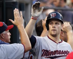 Justin Morneau hit .300 three times in hhis 10 full seasons with the Twins. (Getty)