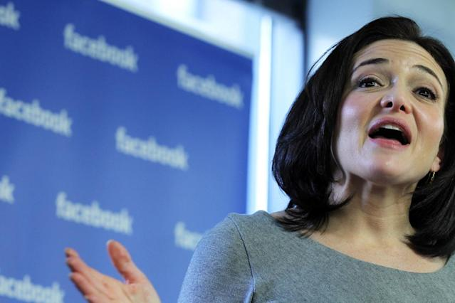 Facebook COO Sheryl Sandberg moved up the billionaire ranks when she sold her stocks on Halloween. The Silicon Valley trailblazer has been outspoken recently about work-life balance. (Spencer Platt/Getty Images)