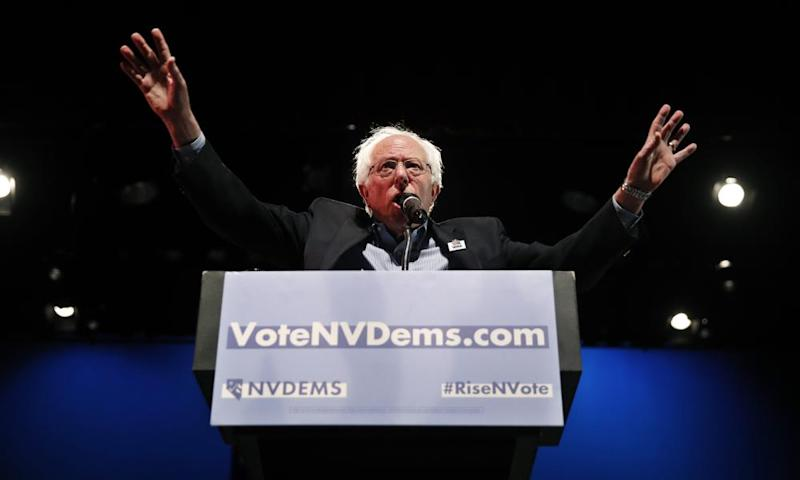 Bernie Sanders: 'When people are anxious and worried about the future, demagogues play to those fears.'