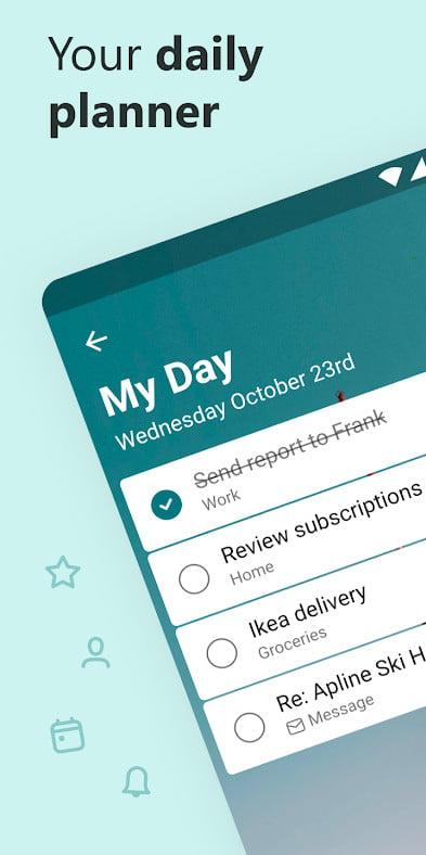 Microsoft To Do daily planner