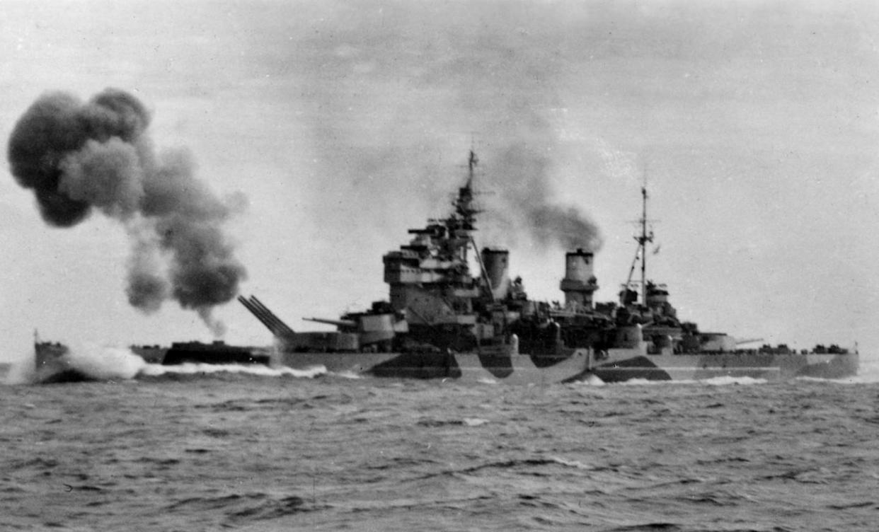 The Lion Class Battleship: The Royal Navy's Super Warship