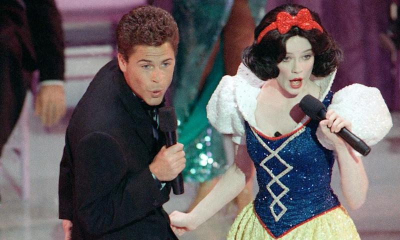 Rob Lowe and Eileen Bowman
