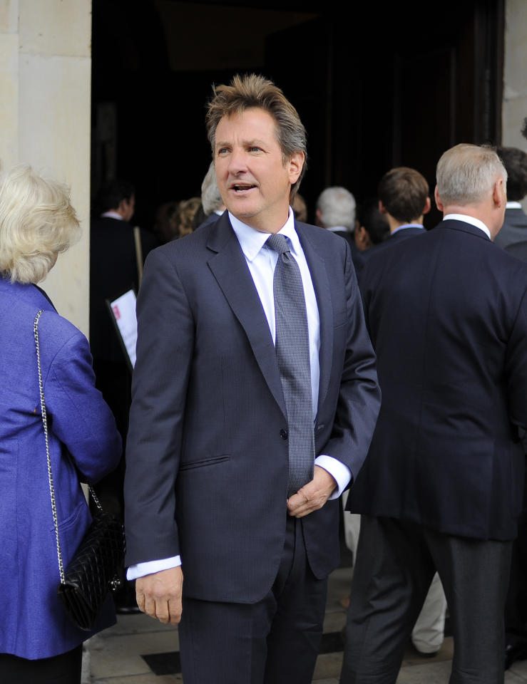LONDON, ENGLAND - JUNE 24: Mark Nicholas attends the Memorial Service for former Cricketer Tony Greig on June 24, 2013 in London, England. (Photo by Charlie Crowhurst/Getty Images)