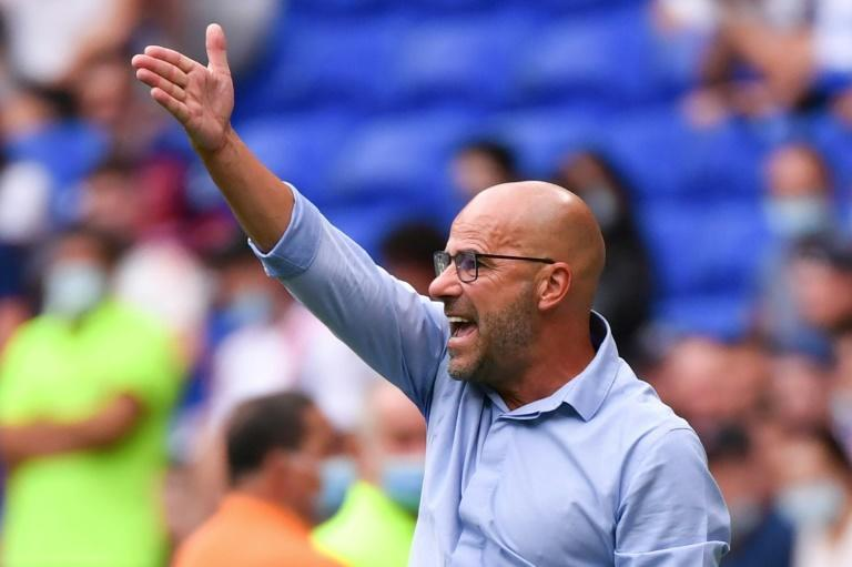Lyon's Peter Bosz has had coaching spells in charge of Ajax and Borussia Dortmund