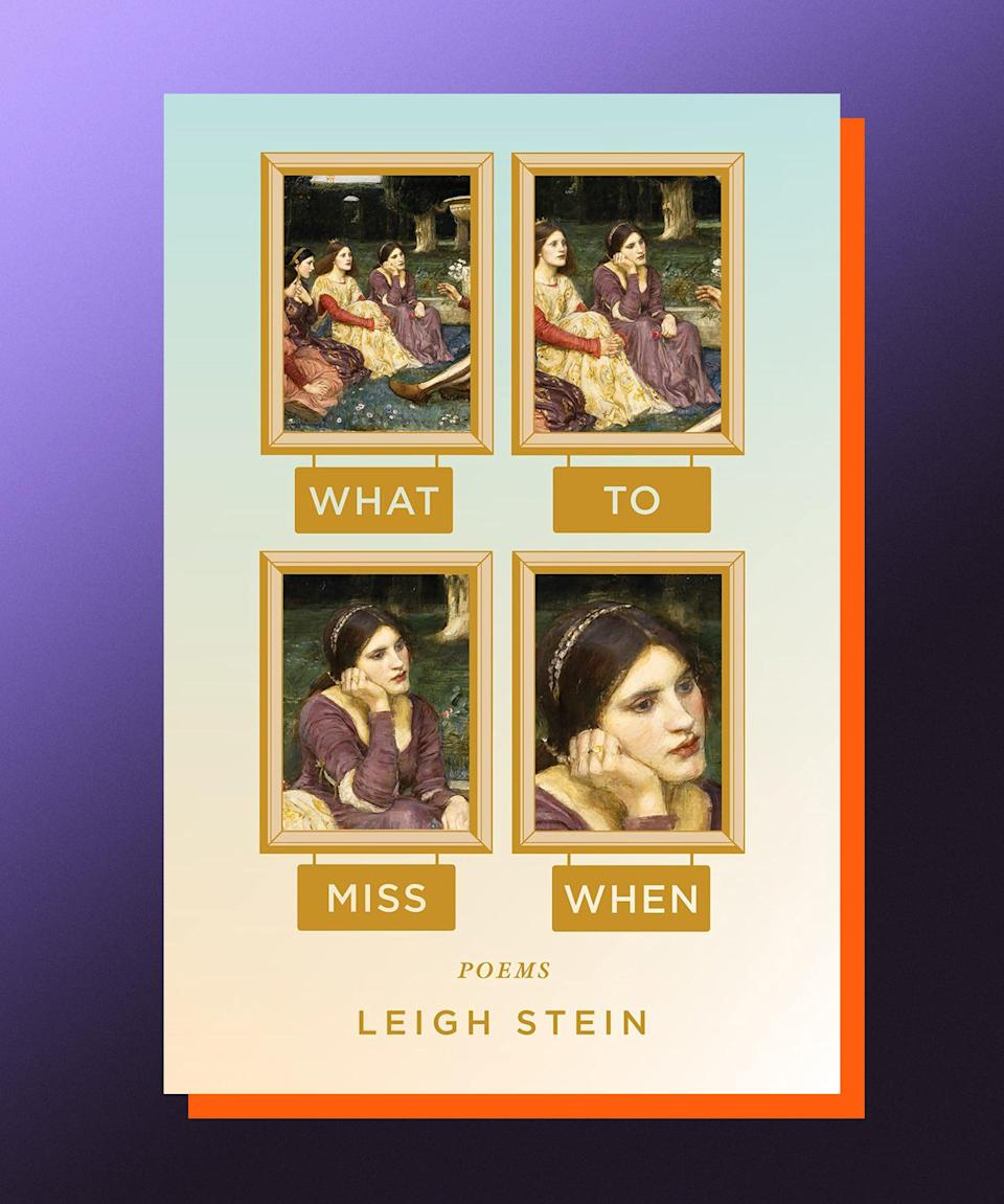 What to Miss When, Leigh Stein