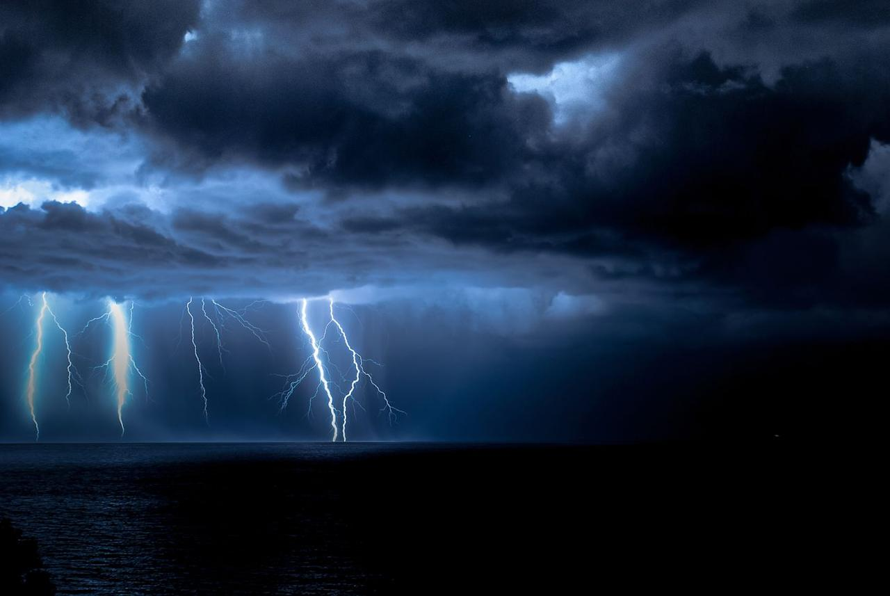 """<p>You don't want to be outside during a thunderstorm, even for a few moments. Once you hear thunder, the lightning is close enough to strike you. <a href=""""https://www.cdc.gov/features/lightning-safety/index.html"""" target=""""_blank"""">The Centers for Disease Control and Prevention</a> goes by the motto, """"When thunder roars, go indoors."""" Immediately find shelter. </p>"""