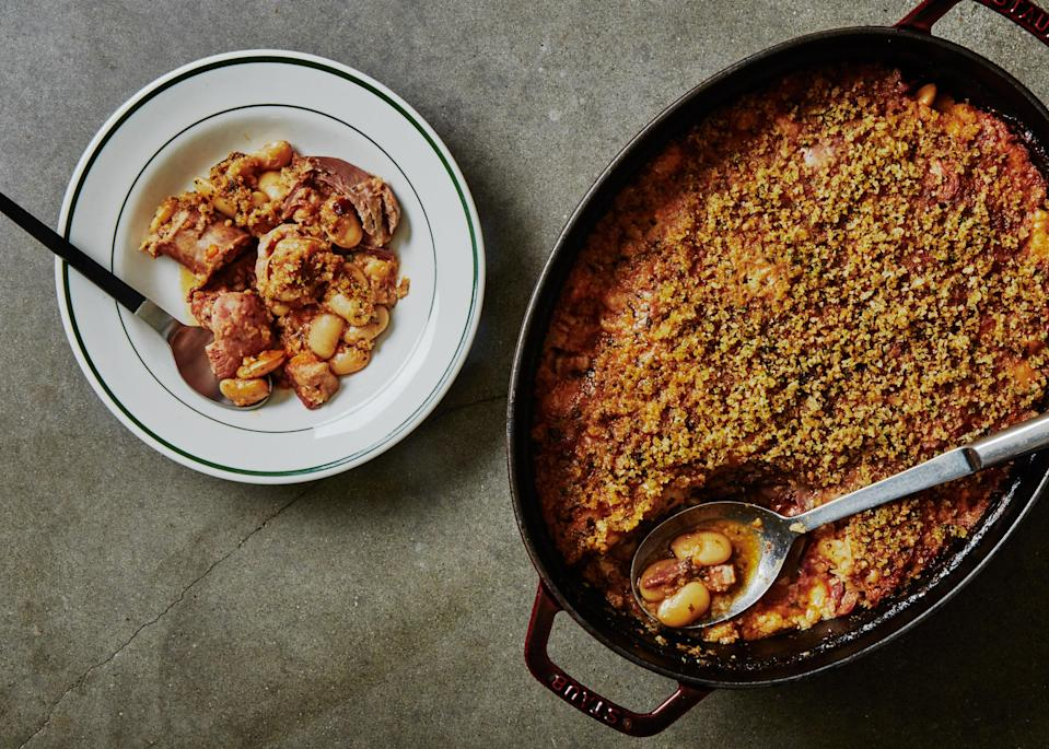 "<a href=""https://www.bonappetit.com/recipe/classic-cassoulet?mbid=synd_yahoo_rss"" rel=""nofollow noopener"" target=""_blank"" data-ylk=""slk:See recipe."" class=""link rapid-noclick-resp"">See recipe.</a>"