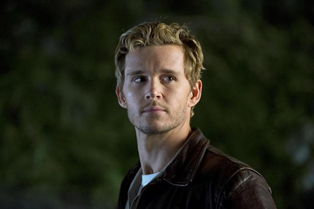 "Tired of ""bloodsuckers brain-raping"" him, Jason Stackhouse (Ryan Kwanten) might join the battle aligned with the blood bags. <a href=""https://www.youtube.com/user/trueblood/videos"" rel=""nofollow noopener"" target=""_blank"" data-ylk=""slk:Early clips"" class=""link rapid-noclick-resp"">Early clips</a> show him turning a gun on Eric's sister until Sookie jumps in front of her and challenges, ""If you are going to put a bullet in Eric's sister's chest, it's going through me first."""