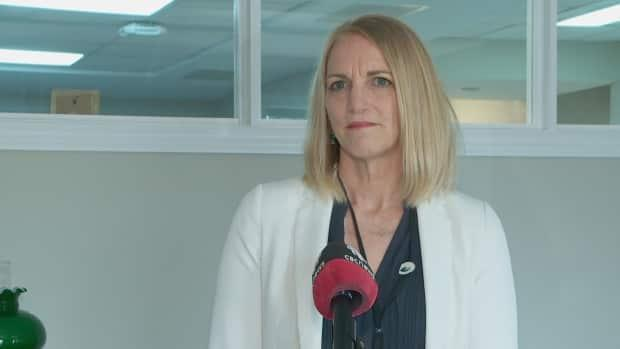 Corinne Rowswell, COO of Health PEI, says ifparamedics were to begin working in the PCH emergency department, it would be on a contingency basis.