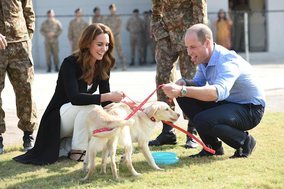 The Duke And Duchess Of Cambridge Visit Islamabad And West Pakistan on Oct 18 2019
