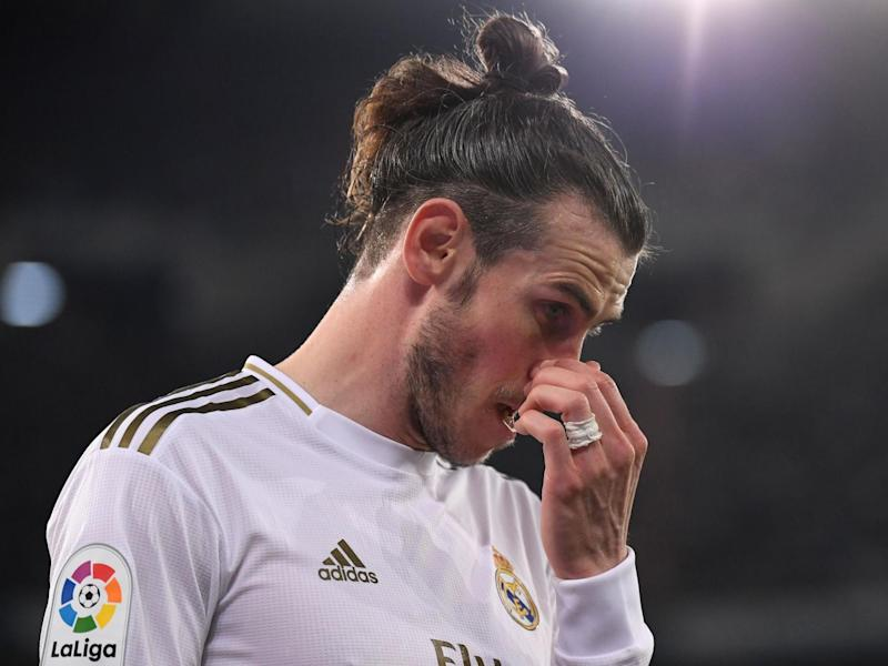 Real Madrid forward Gareth Bale: AFP via Getty Images