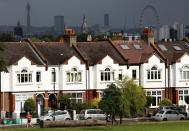 FILE PHOTO: Residential housing in south London