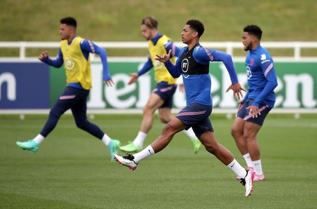 England teenager Jude Bellingham is preparing for Friday's clash against Scotland
