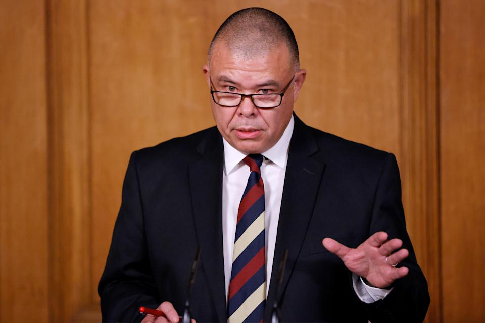 England's Deputy Chief Medical Officer, Jonathan Van Tam speaks during a news conference on the ongoing situation with the coronavirus disease (COVID-19), at Downing Street in London, Britain December 2, 2020. REUTERS/John Sibley/Pool