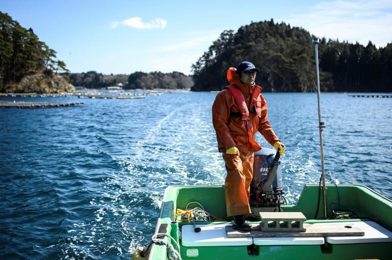 Oyster farmer Makoto Hatakeyama Hatakeyama, like many fishermen, actually headed into the sea during the tsunami in a bid to protect his boat and survived only by swimming to a nearby island