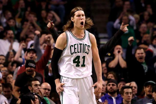"<a class=""link rapid-noclick-resp"" href=""/nba/players/5164/"" data-ylk=""slk:Kelly Olynyk"">Kelly Olynyk</a> is headed to the <a class=""link rapid-noclick-resp"" href=""/nba/teams/mia/"" data-ylk=""slk:Miami Heat"">Miami Heat</a> on a four-year, $50-plus million contract. (Getty)"