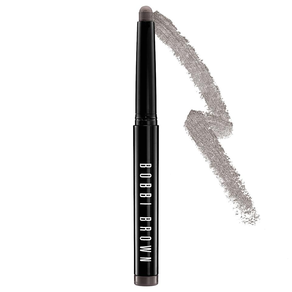 "<p>Not only is a shadow in pencil form easy to use, it's also extremely portable. This <a href=""https://www.popsugar.com/buy/Bobbi-Brown-Long-Wear-Cream-Shadow-Stick-552973?p_name=Bobbi%20Brown%20Long-Wear%20Cream%20Shadow%20Stick&retailer=sephora.com&pid=552973&price=30&evar1=bella%3Auk&evar9=47268327&evar98=https%3A%2F%2Fwww.popsugar.com%2Fbeauty%2Fphoto-gallery%2F47268327%2Fimage%2F47268330%2FBobbi-Brown-Long-Wear-Cream-Shadow-Stick&list1=eye%20shadow%2Csephora%2Ctravel%20tips%2Cbeauty%20shopping&prop13=api&pdata=1"" rel=""nofollow"" data-shoppable-link=""1"" target=""_blank"" class=""ga-track"" data-ga-category=""Related"" data-ga-label=""https://www.sephora.com/product/long-wear-cream-shadow-stick-P378145?icid2=products%20grid:p378145"" data-ga-action=""In-Line Links"">Bobbi Brown Long-Wear Cream Shadow Stick</a> ($30) is a waterproof option whether you want to attempt a brush-free smoky eye, or simply add one of the 15 colors on as a regular shadow.</p>"