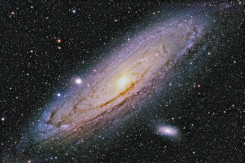 M31 Andromeda Galaxy NGC 224 (Illustration Getty Images)