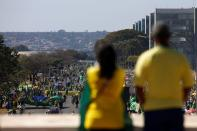 Protest calling for printed and auditable vote, in Brasilia