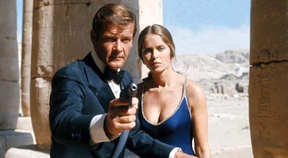 "<p>Surely Moore's finest film in the role of Bond, this one boasts arguably the most memorable closing line of the entire series. As M and the Minister of Defence catch 007 in bed with Russian spy Anya Amasova (Barbara Bach), the minister gasps, ""Bond, what do you think you're doing?"" To which Bond replies, ""Keeping the British end up, sir."" (Picture Credit: MGM-UA) </p>"