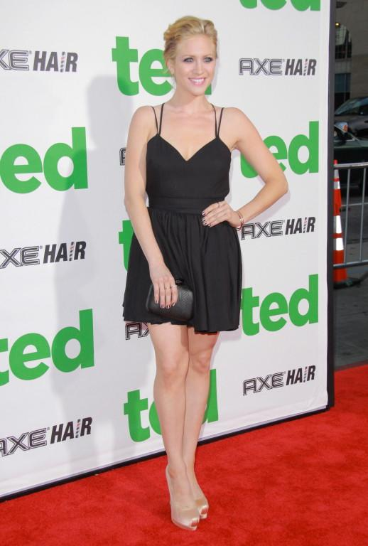 Brittany Snow attending the premiere of 'Ted' at Grauman's Chinese Theatre
