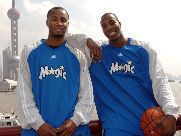 e9a42cf33 Dwight Howard blames media for twisting that thing he said about nobody  wanting ex-Magic teammates