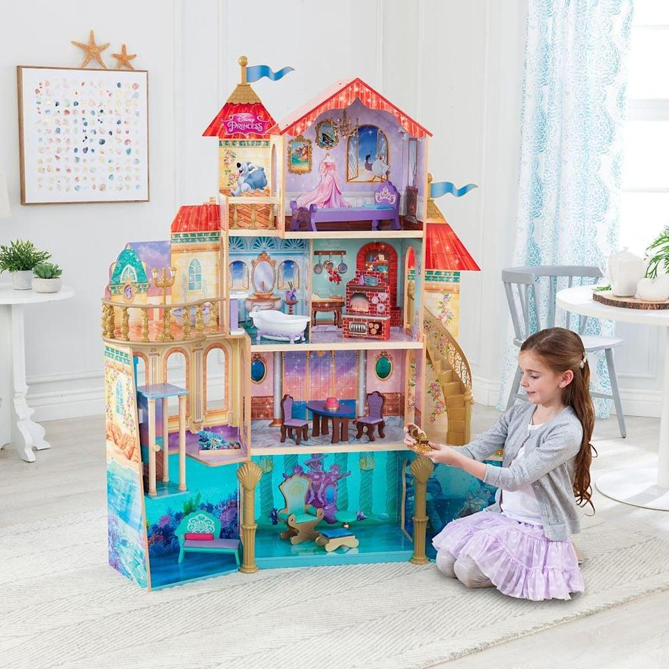 <p>This <span>KidKraft Ariel Undersea Kingdom Dollhouse</span> ($300) is truly the ultimate gift. It will keep them entertained for days.</p>