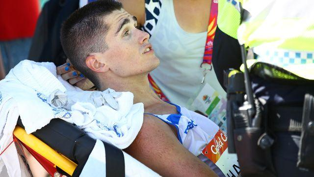 Hawkins was discharged from hospital on Monday. Image: Getty