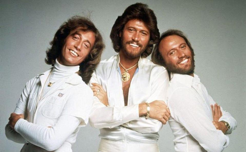 """<span class=""""caption"""">Rapturous falsetto voices are heard in the new HBO documentary 'The Bee Gees: How Can You Mend a Broken Heart.' </span> <span class=""""attribution""""><span class=""""source"""">(HBO)</span></span>"""