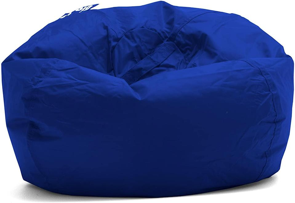 <p>Doesn't the <span>Big Joe Bean Bag in Sapphire</span> ($35) look <em>so</em> inviting? We have a feeling your kiddos will actually enjoy decompressing in this little slice of heaven.</p>