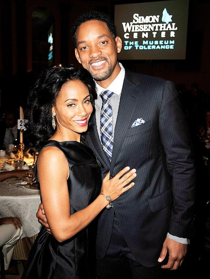 "Jada Pinkett Smith and her hubby Will certainly make for one of the cutest couples in Hollywood. Kevin Winter/<a href=""http://www.gettyimages.com/"" target=""new"">GettyImages.com</a> - May 5, 2009"