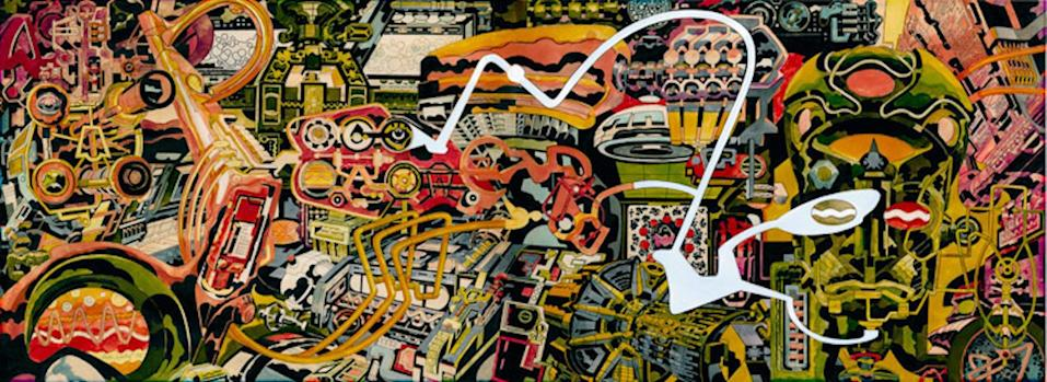 """Jack Kirby's <i>Dream Machine</i> was a key inspiration for the design of <i>Thor: Ragnarok</i>. (Image:<a href=""""http://kirbymuseum.org/pubsandmerch/dream-machine-print/"""" rel=""""nofollow noopener"""" target=""""_blank"""" data-ylk=""""slk:the Kirby Museum"""" class=""""link rapid-noclick-resp""""> the Kirby Museum</a>)"""