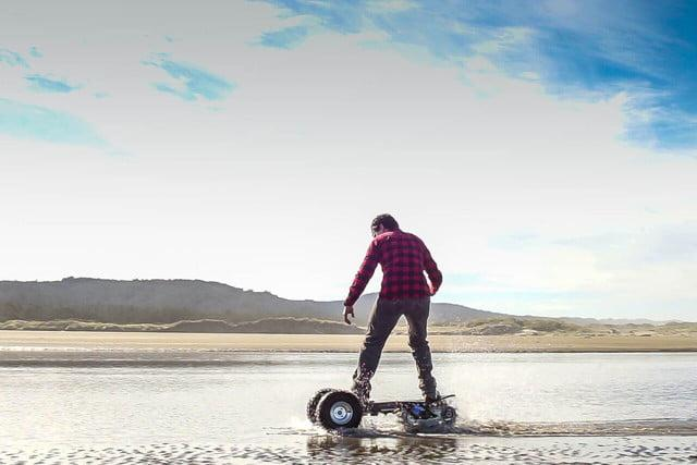track 1 all terrain eboard track1 in water preview