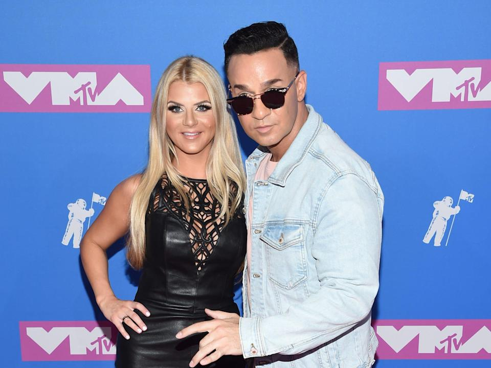 """Mike """"The Situation"""" Sorrentino and Lauren Pesce"""